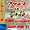 Wax Award in Gold